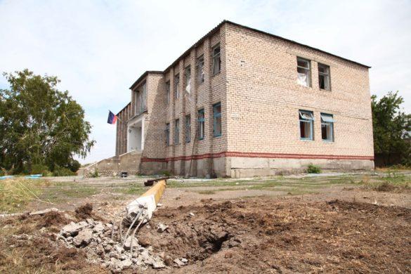 Появились кадры расстрелянного ВСУ посёлка Луково