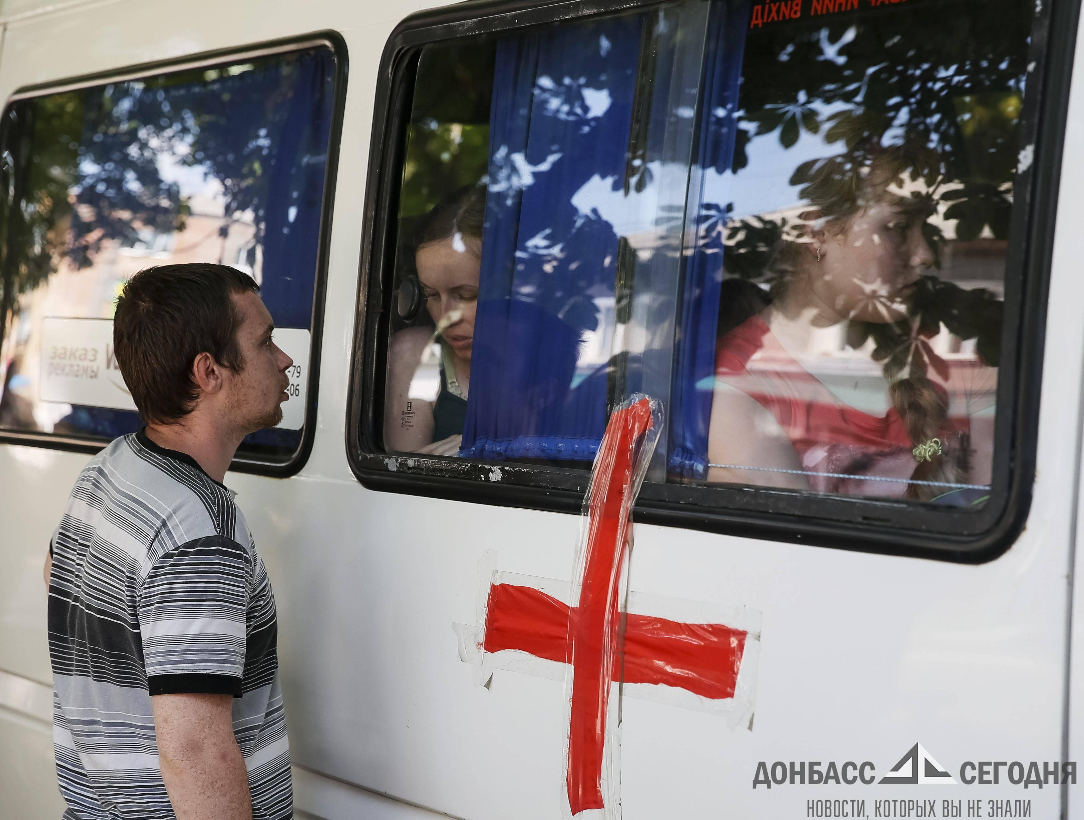 Ополченцы под Славянском ценой своих жизней защитили от ВСУ автобус с беременными женщинами и детьми