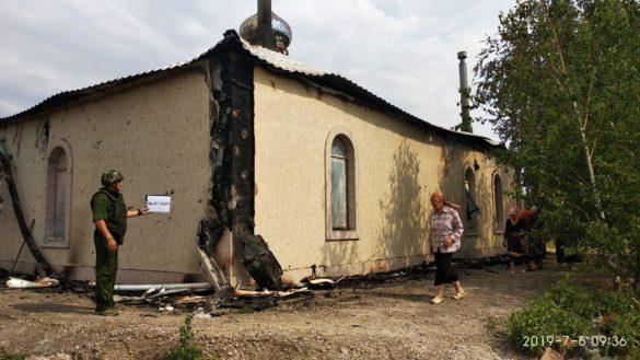 В СЦКК показали расстрелянную церковь в Коминтерново