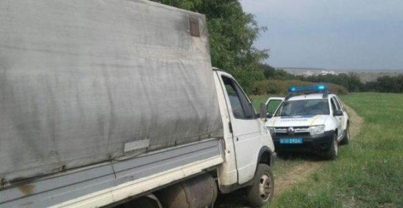 Под Константиновкой удалось поймать очередных вооружённых чёрных лесорубов