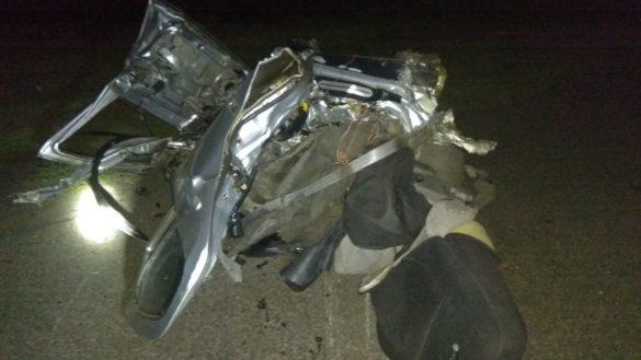 Кошмар под Марьинкой: гигантский тризуб унёс жизни людей в сгоревшем авто