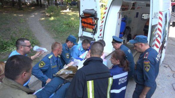 Состояние одного из попавших под огонь ВСУ спасателей МЧС — тяжёлое