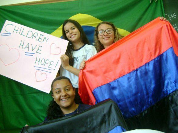 В защиту детей Донбасса выступила Бразилия