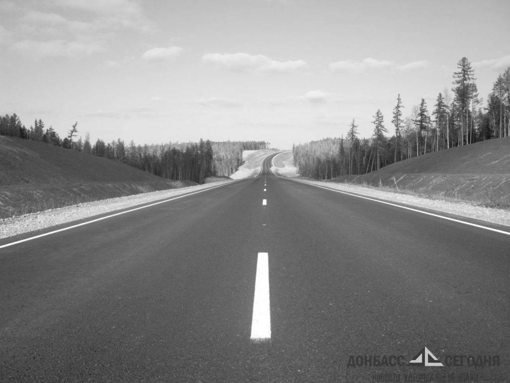 Построенных за 2,4 миллиарда дорог в Луганской области хватит только на 10 лет