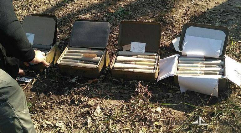 Торговца боевыми гранатами «приняли» в Селидово