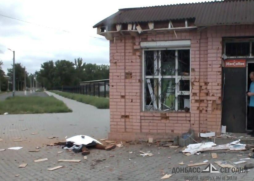 Пока мы прятались в подвале, украинские снаряды убивали мою бабушку и тётю