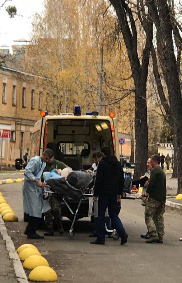 В Киеве приземлился самолёт с покалеченными бойцами ВСУ