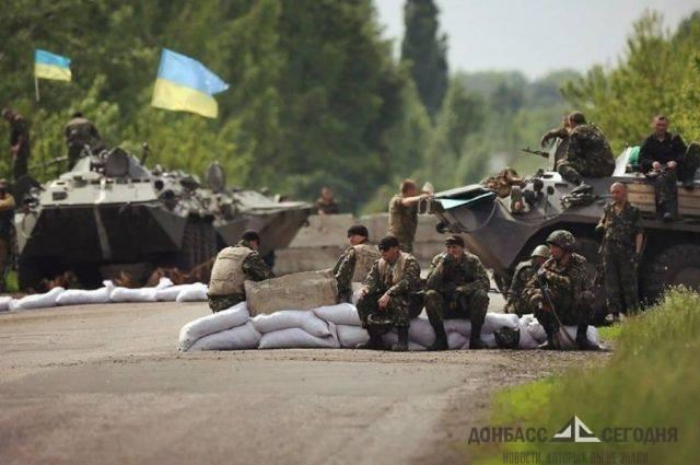 Под Славянском пьяный украинский солдат пошутил, что расстреляет автомобиль с маленьким ребёнком