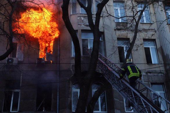 Кошмарный пожар в одесском колледже произошёл из-за радикального пренебрежения Киева