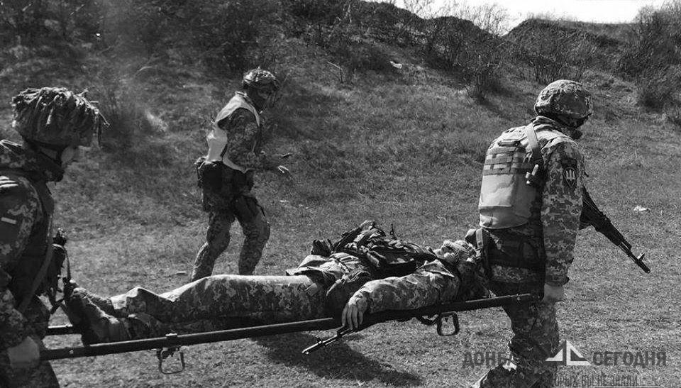 Раненого солдата ВСУ не эвакуировали с позиций из-за тишины со стороны ДНР