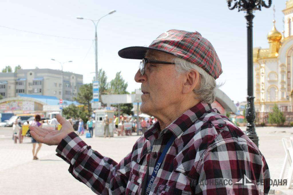 Спасший ополченцев донецкий пенсионер рассказал о беседе с Захарченко