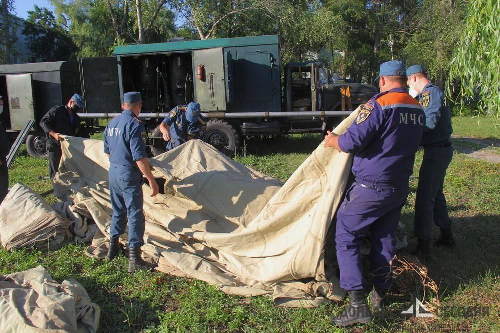 В Донецке развернули спецгоспиталь для прибывших из Украины граждан
