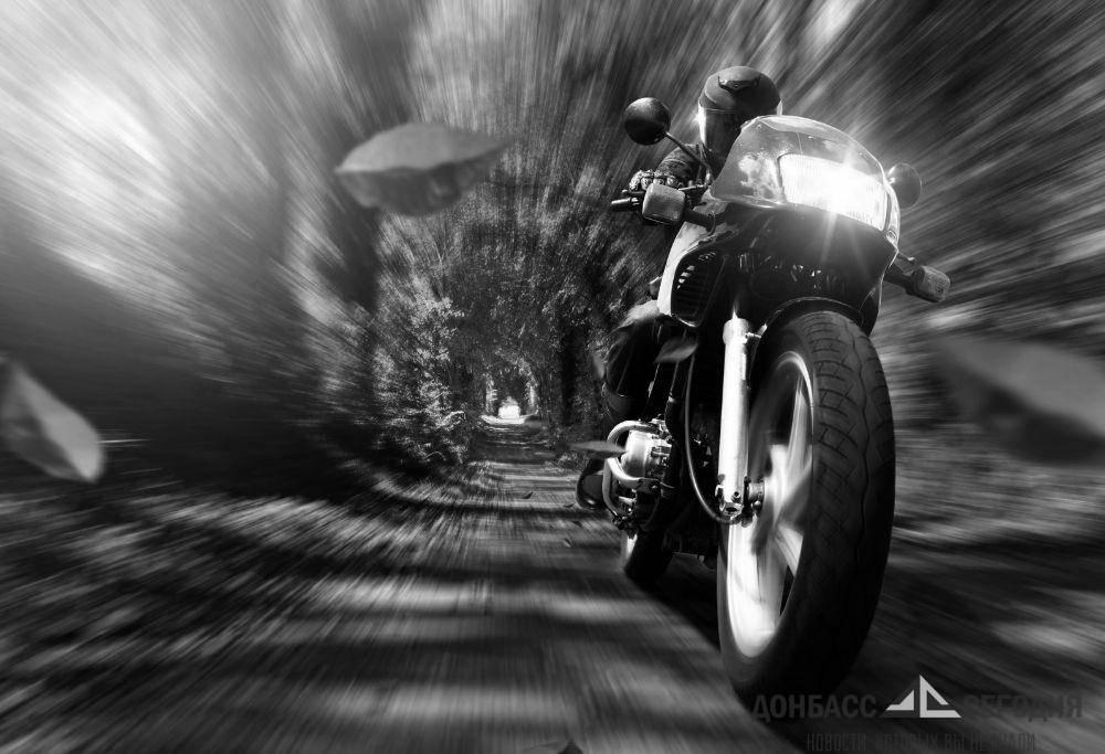 Донецкий мотоциклист погиб в страшном ДТП