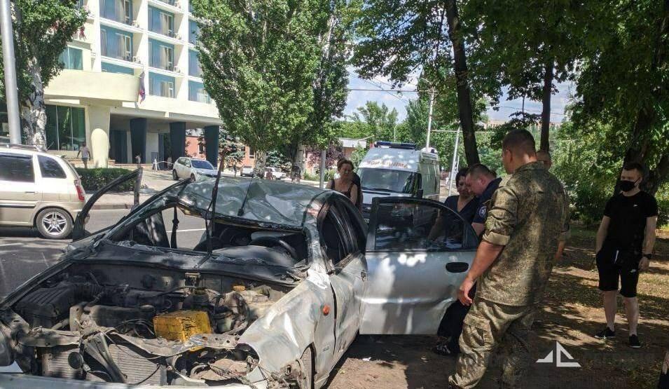 """Возле гостиницы """"Ramada"""" в Донецке произошло смертельное ДТП"""