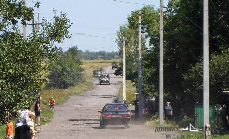 Ополченцы уничтожили подбивший легковушку под Торезом украинский самолёт