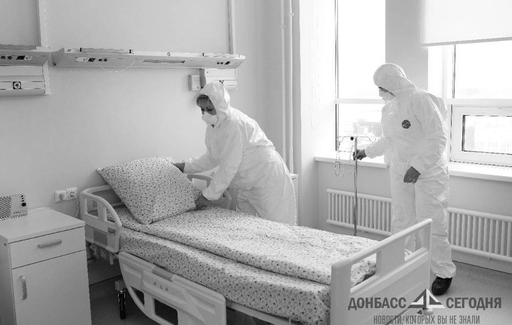 Количество умерших от коронавируса в ДНР перевалило за 170