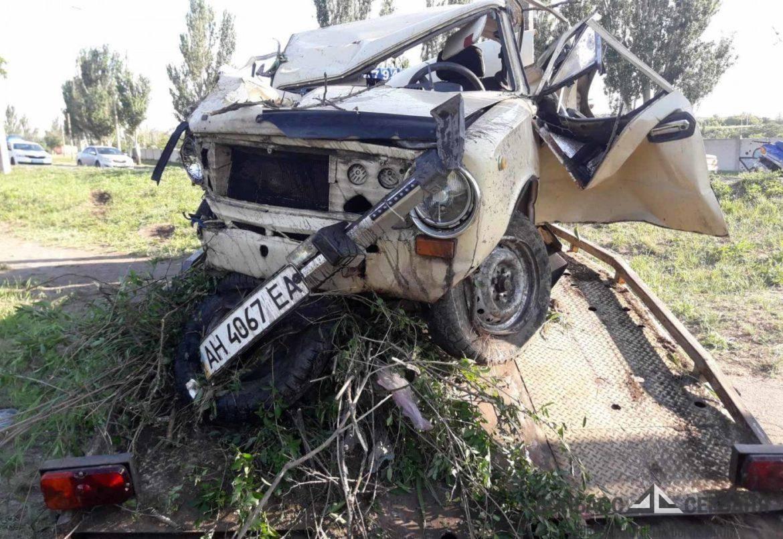 Четверо мариупольцев пострадали в серьёзной аварии