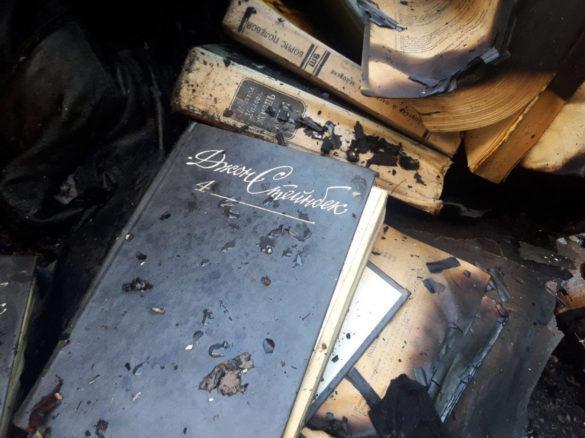 Почти как у Брэдбери: в Мариуполе начали таинственно жечь книги на Куприна
