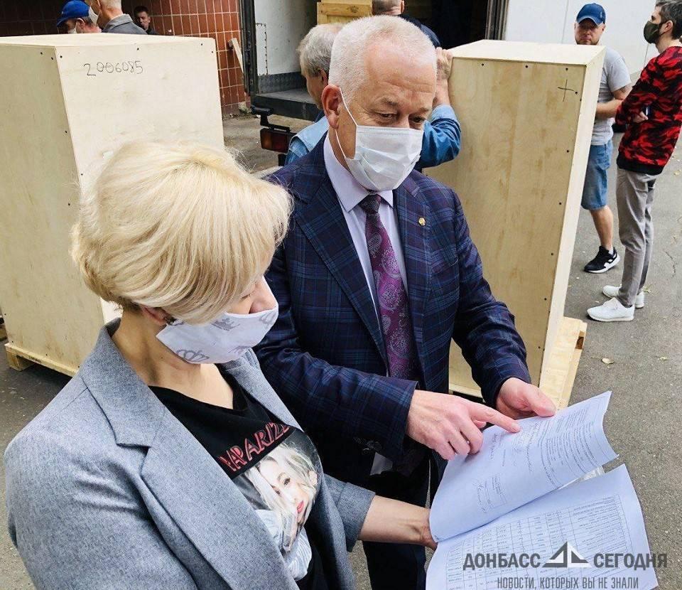В ДНР получили новые медицинские тренажёры из России