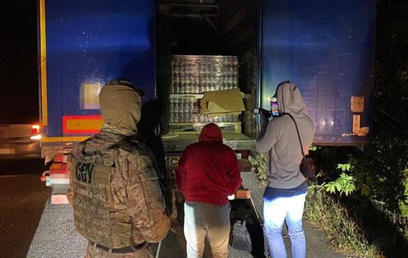 СБУ рапортует о перехваченной партии продуктов в ДНР на 9 миллионов