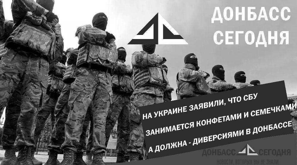 На Украине заявили, что СБУ занимается конфетами и семечками, а должна — диверсиями в Донбассе