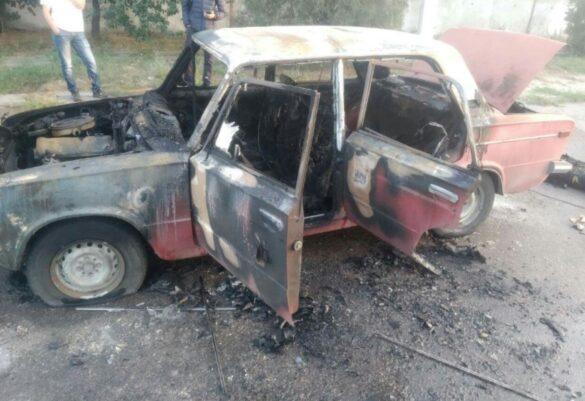 В Мариуполе на полном ходу загорелся призрачный гонщик