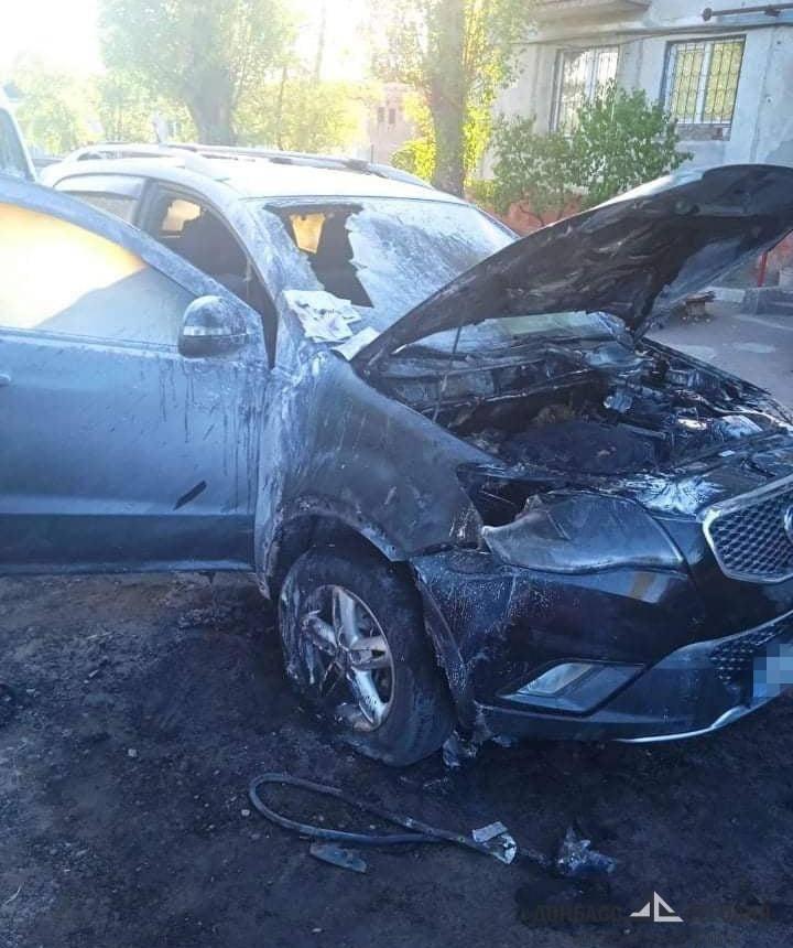 Житель Северодонецка украл домкрат и спалил восемь автомобилей