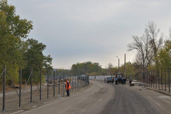 В Луганской области подходит к завершению строительство нового КПВВ
