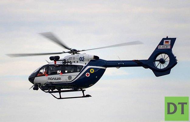 В Киев прибыли немецкие вертолёты