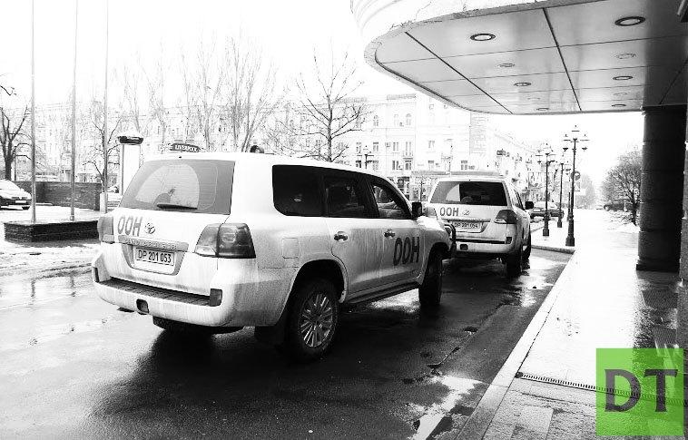ООН передала ЛДНР 42 кг гуманитарки, везли аж 2-мя машинами