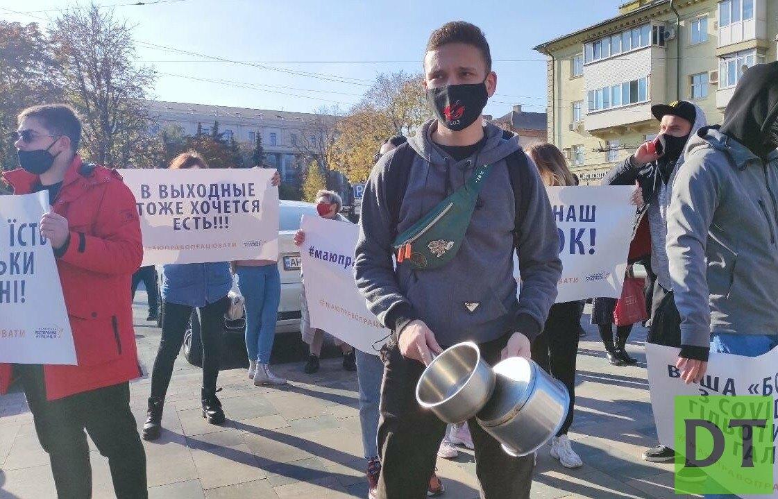 Подконтрольные Киеву города Донбасса подняли бунт – вышел даже стриптиз-клуб