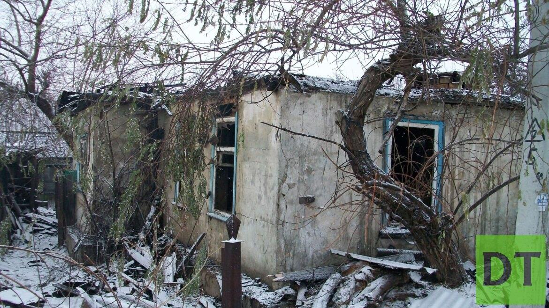 В ЛНР двое мужчин стали жертвами огня