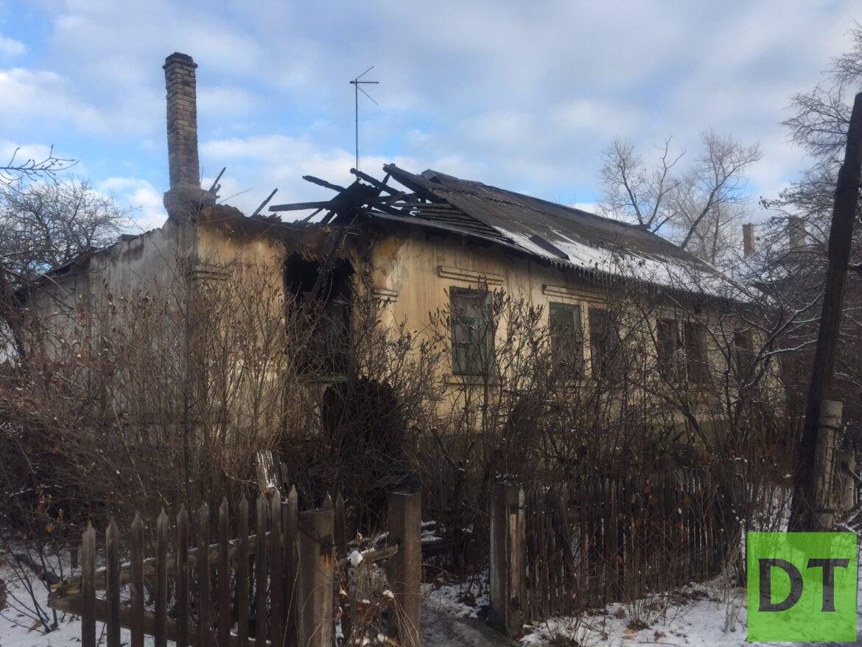 Пожилой инвалид заживо сгорел в ЛНР