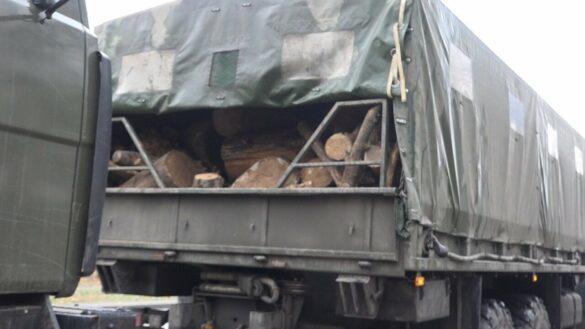 Штанга упала на военную колонну ВСУ на Строителей