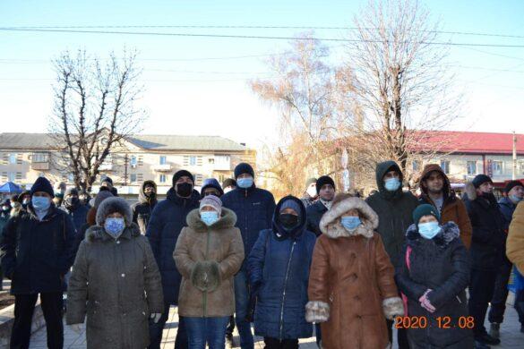 В Донбассе начали протестовать шахтёры