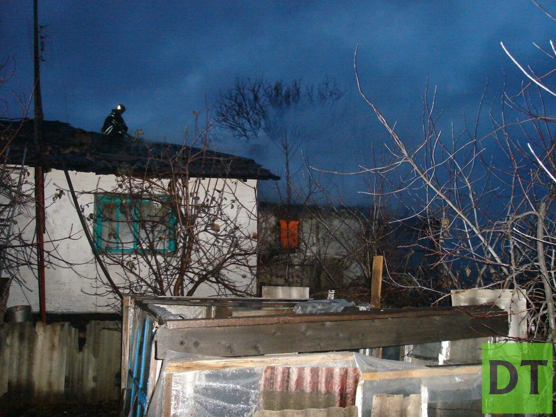 Житель Артёмовска сгорел заживо