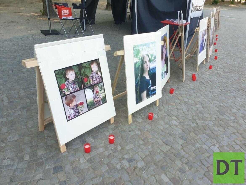 В Германии призывают прекратить убивать детей Донбасса