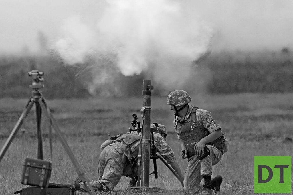 ВСУ расстреляли запад Донецка