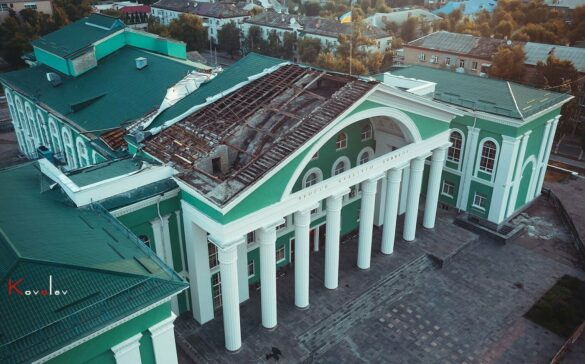 Северодонецкий дом культуры остался без крыши
