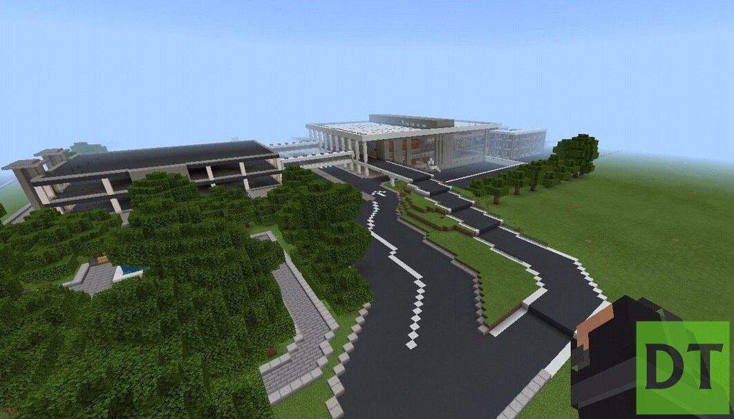 Дончанин «восстановил» разрушенный аэропорт