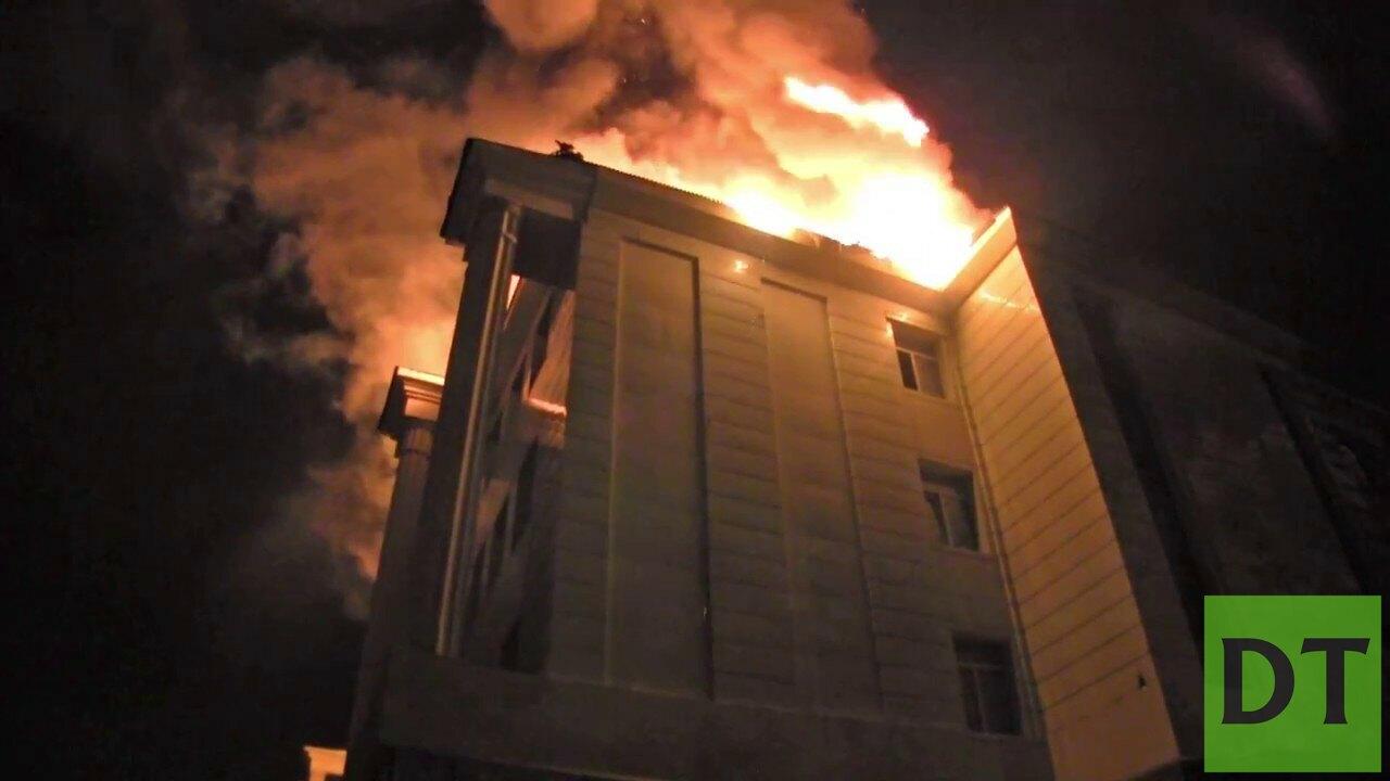 33 школа донецк пожар