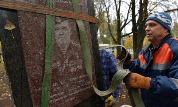 На площади в Донецке установят памятник Мотороле и защитникам ДАП